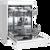 WESTINGHOUSE WHITE FREESTANDING DISHWASHER - WSF6602WA