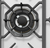 WESTINGHOUSE 75CM STAINLESS STEEL 5 BURNER GAS COOKTOP - WHG758SC