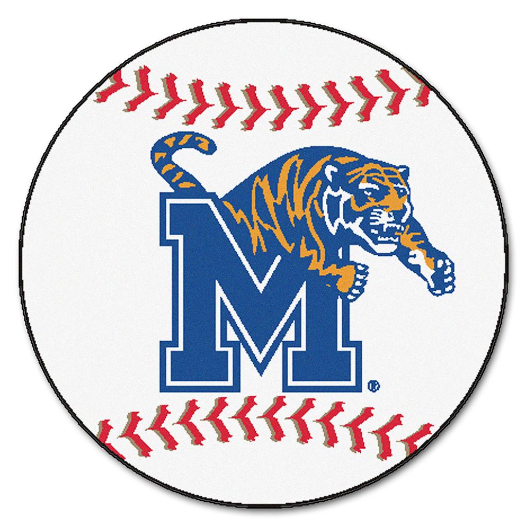 "Memphis Tigers NCAA ""Baseball"" Round Floor Mat (29"")"
