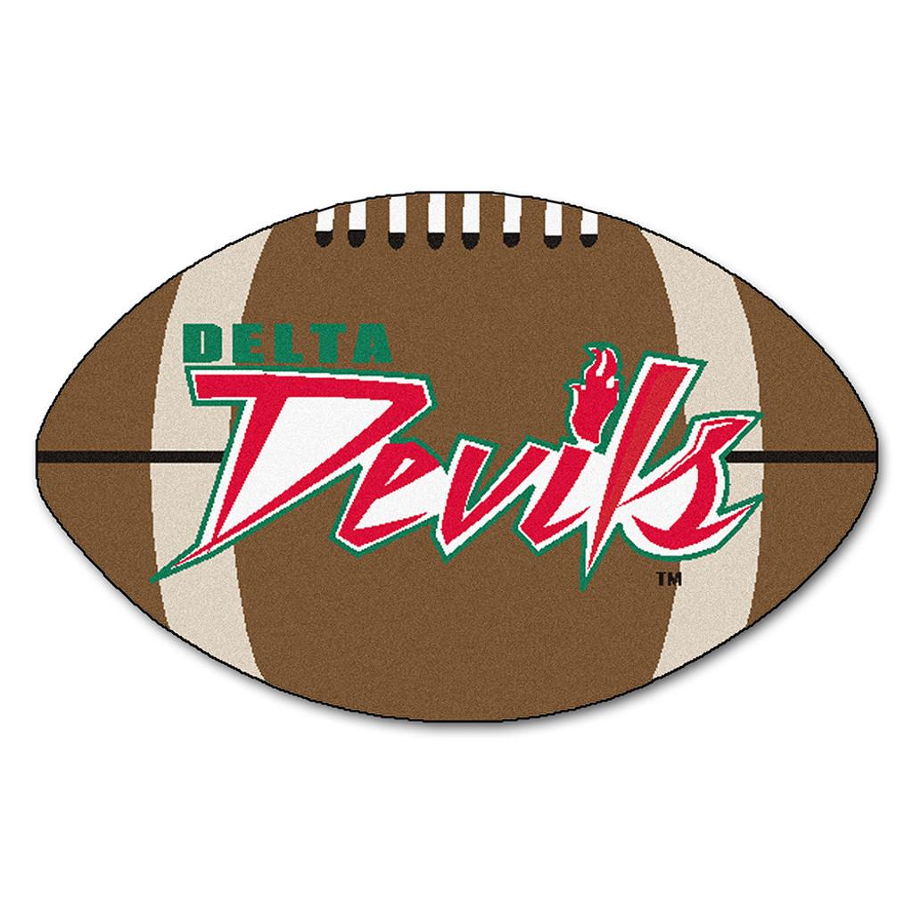 """Mississippi Valley State Delta Devils NCAA """"Football"""" Floor Mat (22""""x35"""")"""