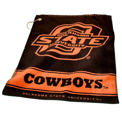 Oklahoma State Cowboys NCAA Woven Golf Towel