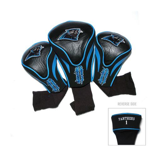 Carolina Panthers NFL 3 Pack Contour Fit Headcover