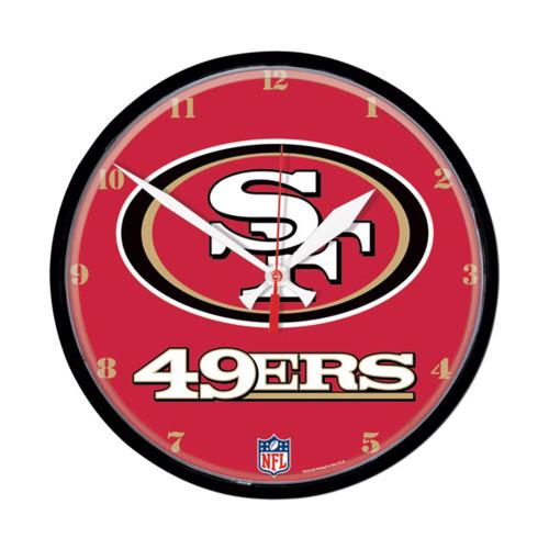 San Francisco 49ers NFL Round Wall Clock