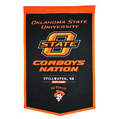 "Oklahoma State Cowboys NCAA ""Powerhouse"" Banner(18""x27"")"