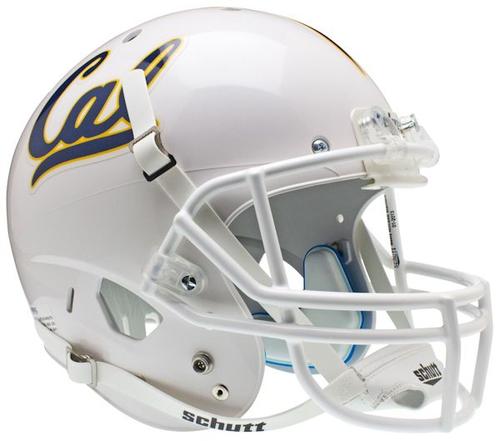 California (CAL) Golden Bears Full XP Replica Football Helmet Schutt White