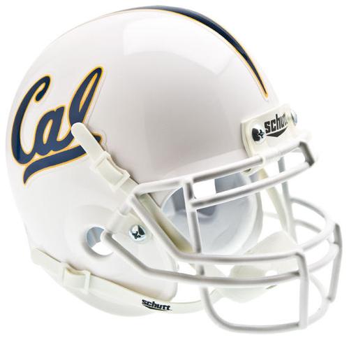 California (CAL) Golden Bears Mini XP Authentic Helmet Schutt White