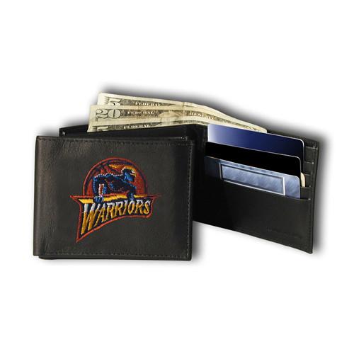 Golden State Warriors NBA Embroidered Billfold Wallet