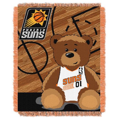 "Phoenix Suns NBA Triple Woven Jacquard Throw (Half Court Baby Series) (36""x48"")"
