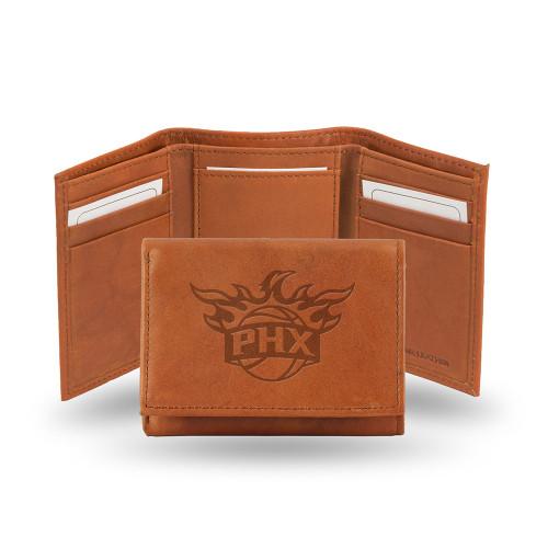 Phoenix Suns  Tri-Fold Wallet (Pecan Cowhide)