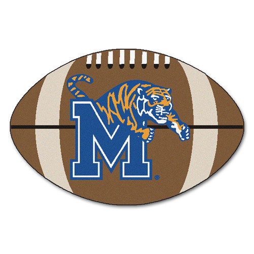 "Memphis Tigers NCAA ""Football"" Floor Mat (22""x35"")"