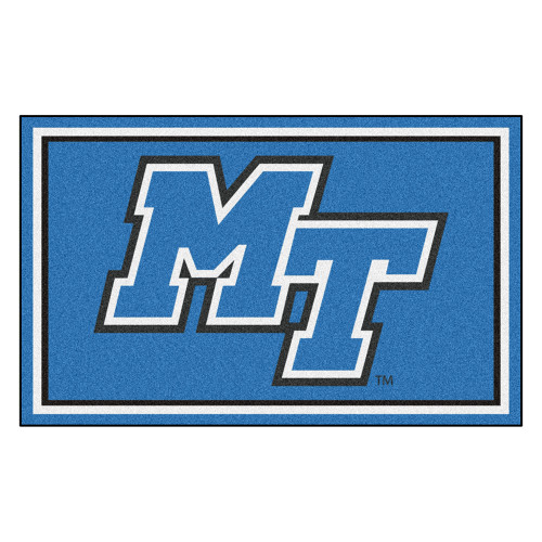 """Middle Tennessee State Blue Raiders NCAA 4x6 Rug (46""""x72"""")"""
