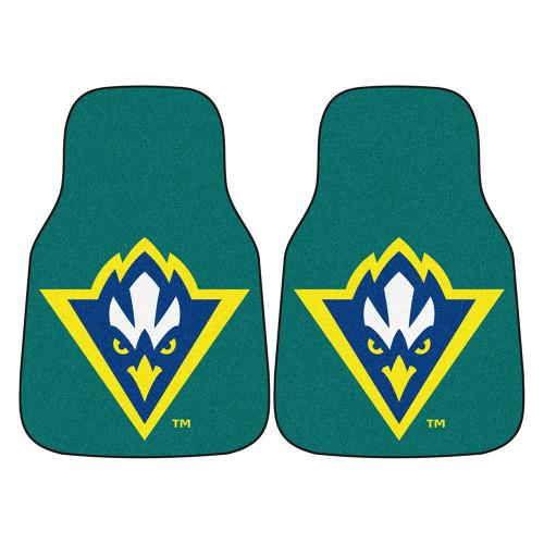 North Carolina Wilmington Seahawks NCAA Car Floor Mats (2 Front)