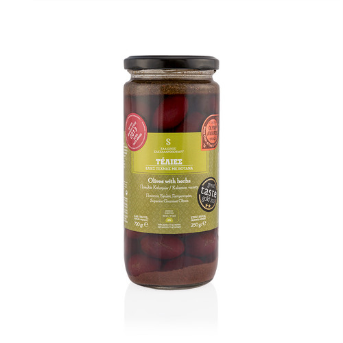 Telies - Olives with Aromatic Herbs