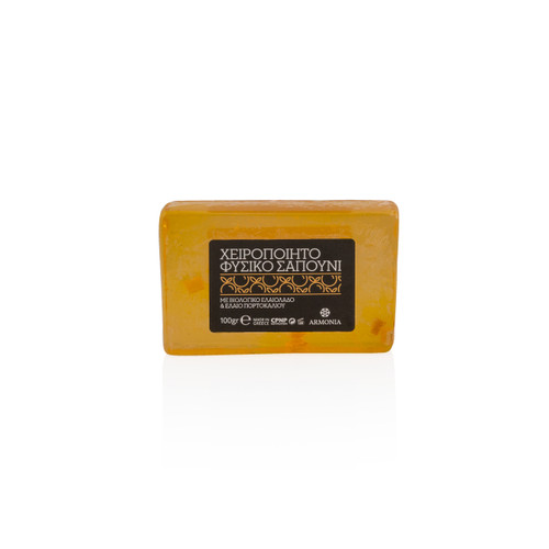 Hand Made Soap with Olive Oil & Orange