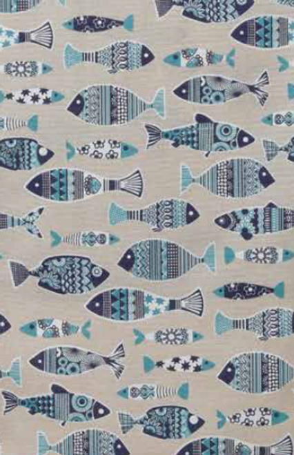 Apron Fish Pattern