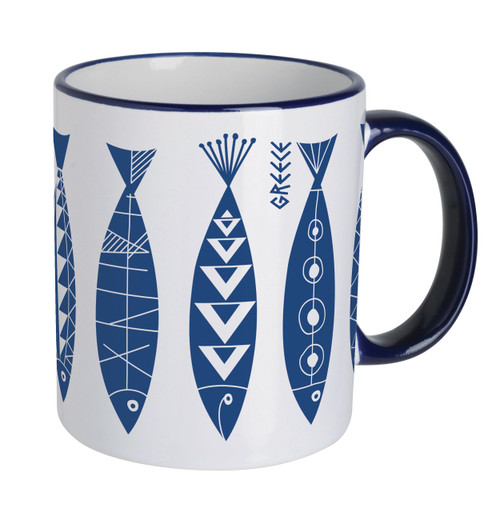 Mug - Greek Fish