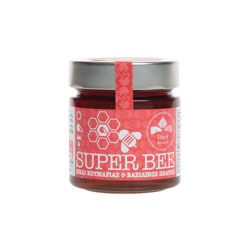 Vasilissa Superbee Greek Strawberry Tree Honey with Royal Jelly