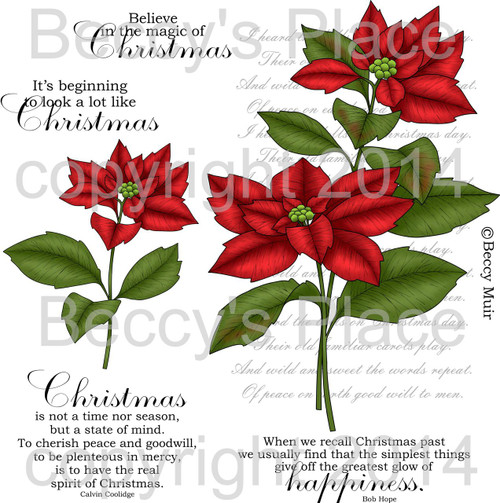 Spirit of Christmas digital stamps