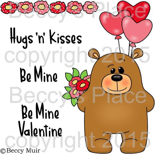 Valentine Stanley digital stamps