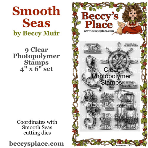 Smooth Seas clear stamps