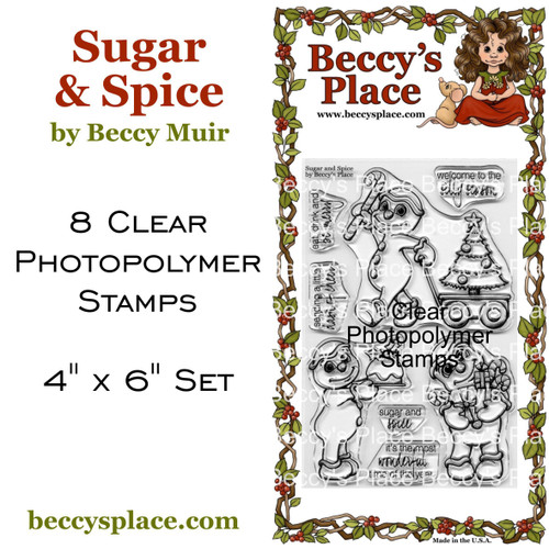 Sugar and Spice clear stamps