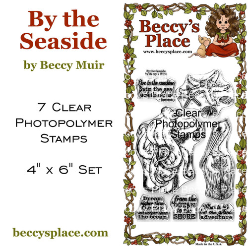By The Seaside clear stamps