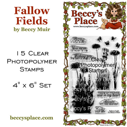 Fallow Fields clear stamps