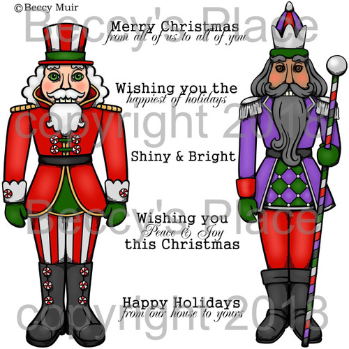 Nutcracker digital stamps
