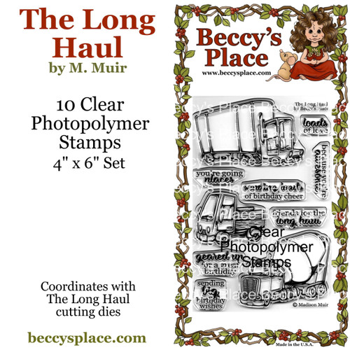 The Long Haul clear stamps
