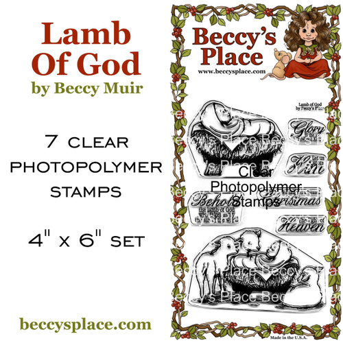 Lamb Of God clear stamps