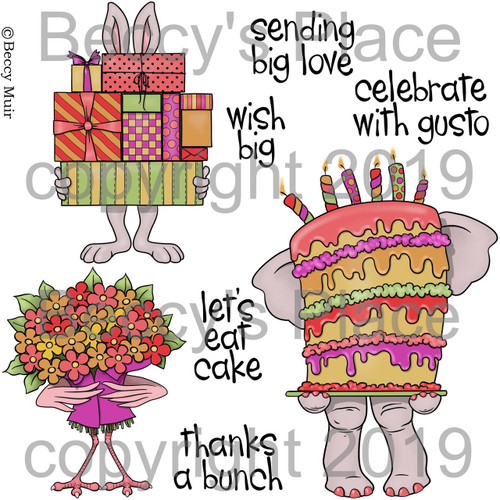 Big Wishes digital stamps