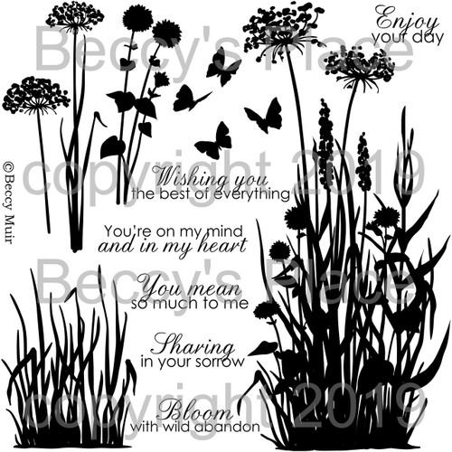 Fallow Fields digital stamps