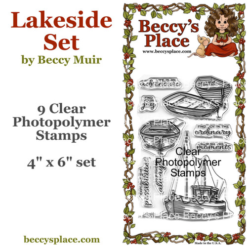 Lakeside clear stamps
