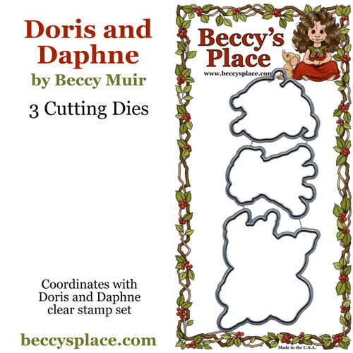 Doris and Daphne cutting dies