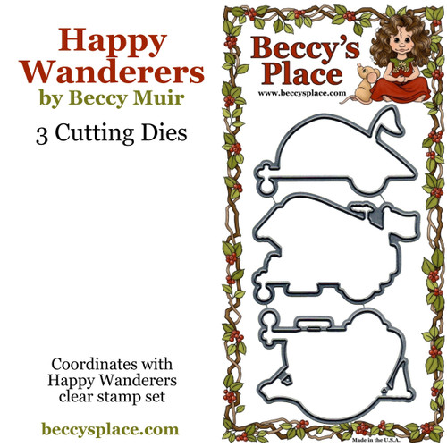 Happy Wanderers cutting dies