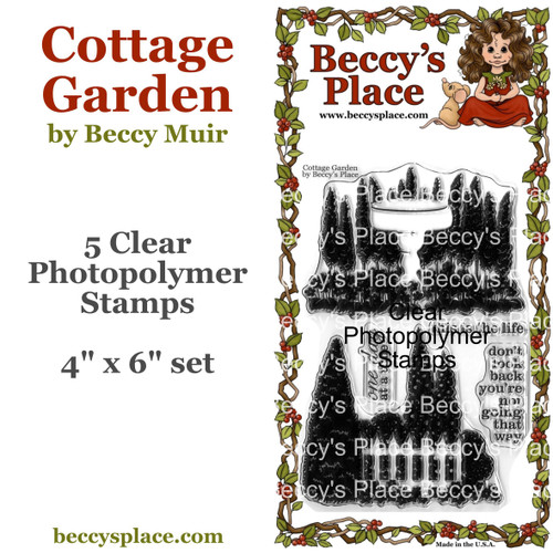 Cottage Garden clear stamps