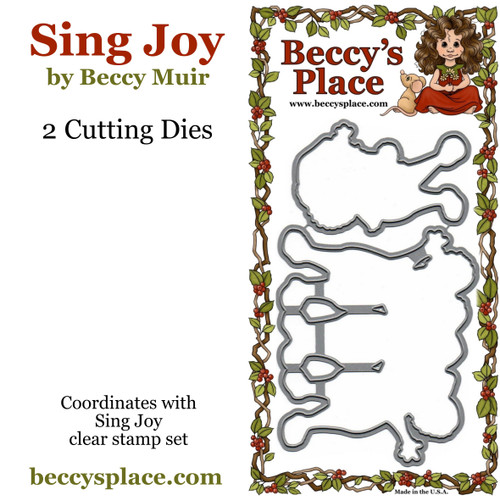 Sing Joy cutting dies