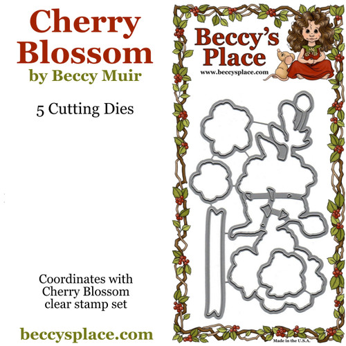 Cherry Blossom cutting dies