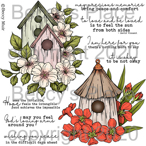 Precious Memories digital stamps