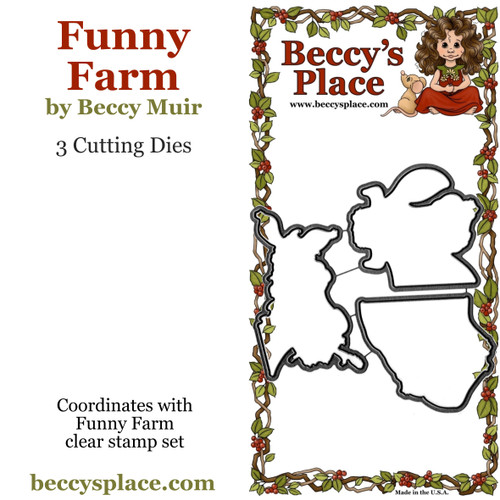 Funny Farm cutting dies
