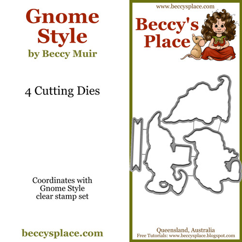 Gnome Style cutting dies