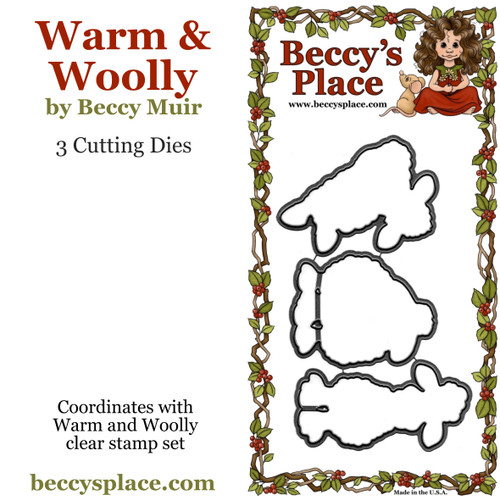 Warm and Woolly cutting dies