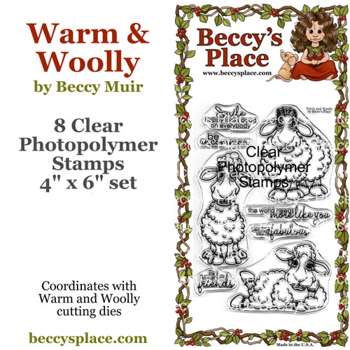 Warm and Woolly clear stamps
