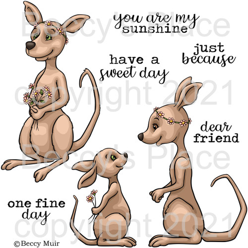 One Fine Day digital stamps