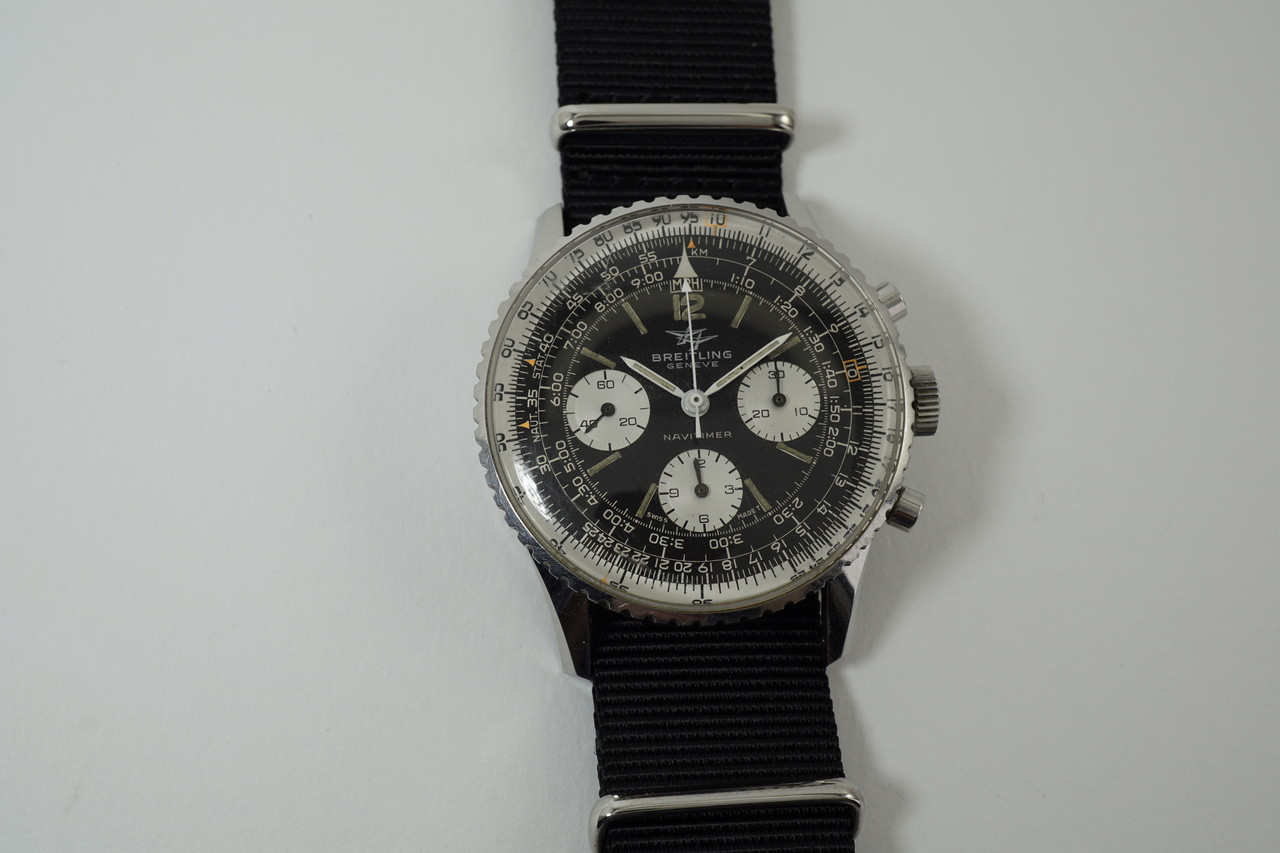Breitling Navitimer 806 Twin Jets Stainless Steel 1966