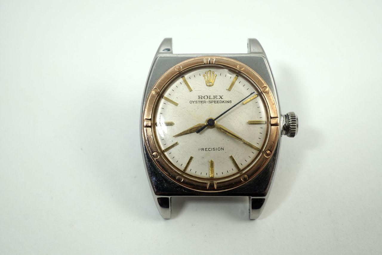 Rolex 3359 Viceroy Pink 7 steel Chronometer rare dates 1945