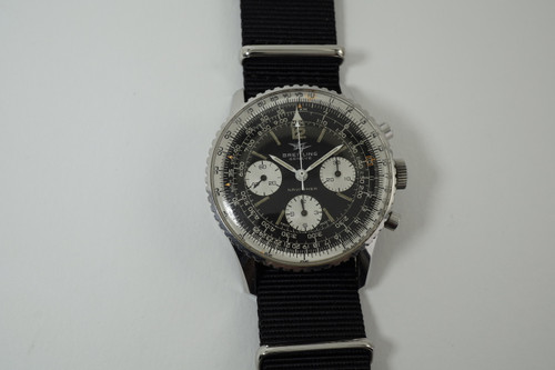 Breitling Navitimer 806 Twin Jets stainless steel 1966 vintage original time piece pre owned for sale houston fabsuisse