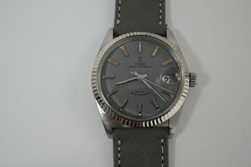 Tudor 7990/4 Prince Oysterdate stainless steel dates 1960's vintage original cool dial pre owned for sale houston fabsuisse