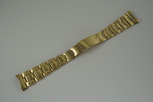 Rolex Oyster Bracelet #57 ends fits 19 mm dates 1970's vintage original pre owned for sale houston fabsuisse