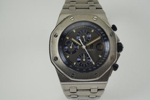 Audemars Piguet 25721T1.00 Royal Oak Offshore titanium c. 1990's modern pre owned for sale houston fabsuisse